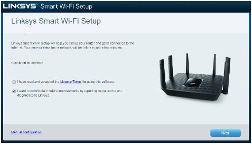Setup Linksys Smart Wi-Fi Router