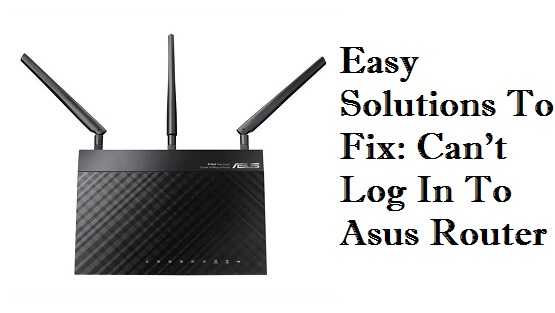 Can't getting Access to the Asus Router