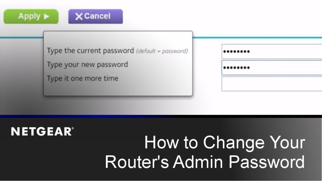 Change the Username and Password of Routerlogin.net