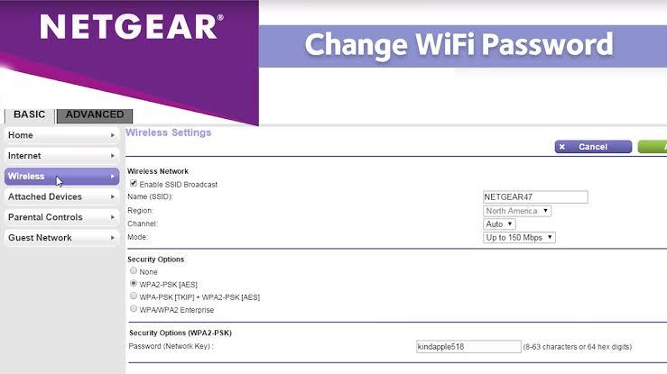 Change Username and Password of Netgear Nighthawk R700P Router www.routerlogin.net