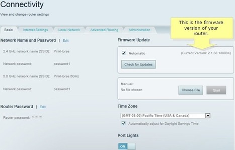 Firmware update myrouter.local