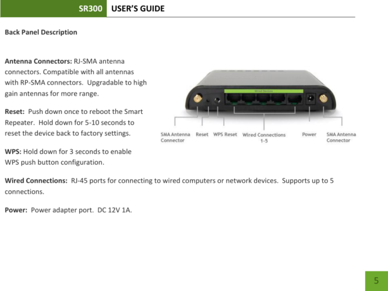 Amped wireless extender setup
