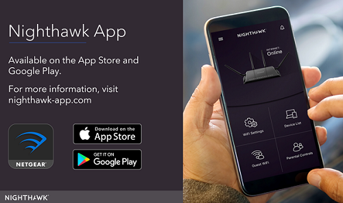 Netgear Nighthawk App for Smartphone