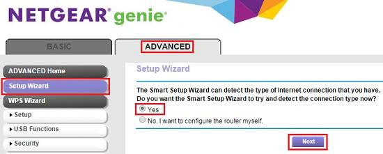 Netgear Orbi Router Setup Wizard