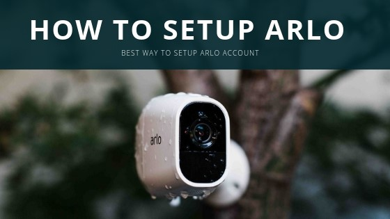 Netgear Arlo pro camera setup