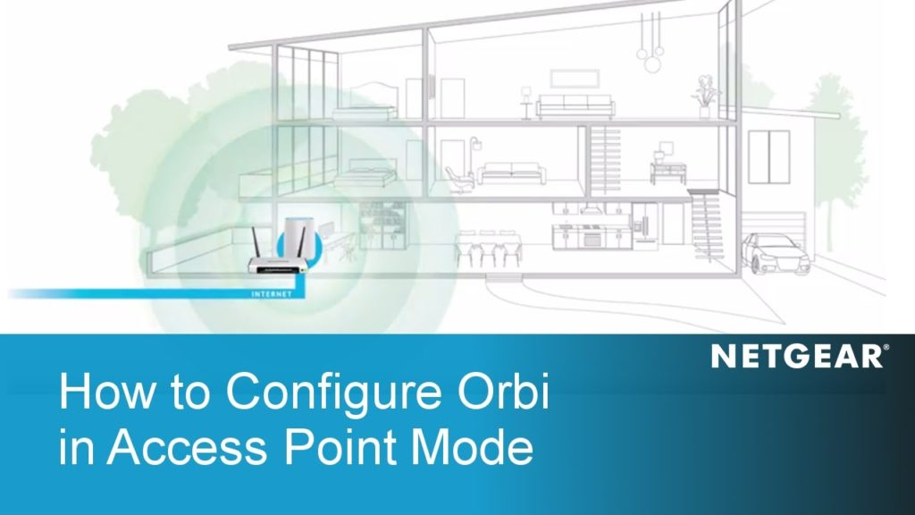 Steps to perform orbilogin.com setup as an access point