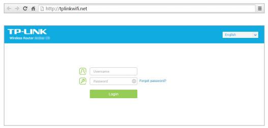 TP-link Wi-Fi login steps