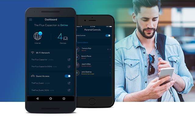 Linksys Smart Wi-Fi Login through Linksys App