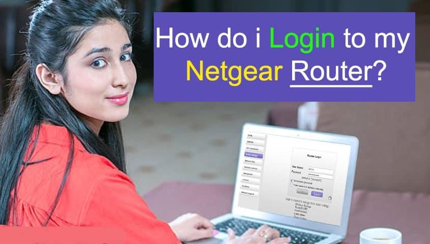 Log Into My Netgear Router