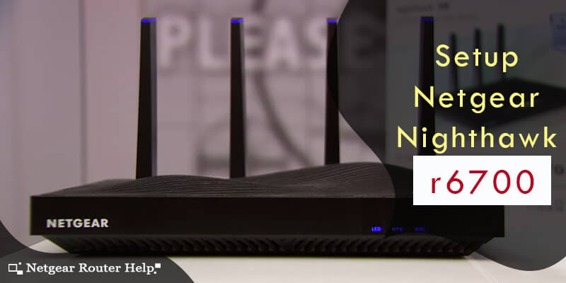 Netgear Nighthawk R6700 router