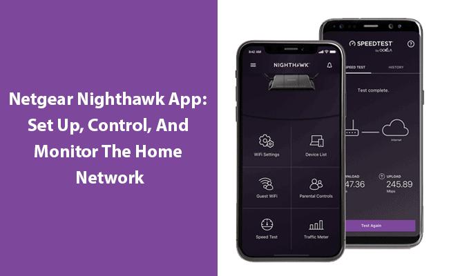Netgear Router by Nighthawk App