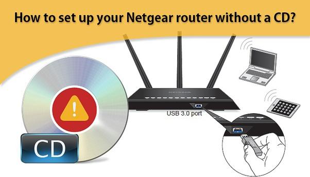 Netgear routerlogin.net setup without CD