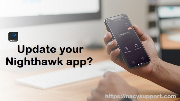 How do I update my Nighthawk app