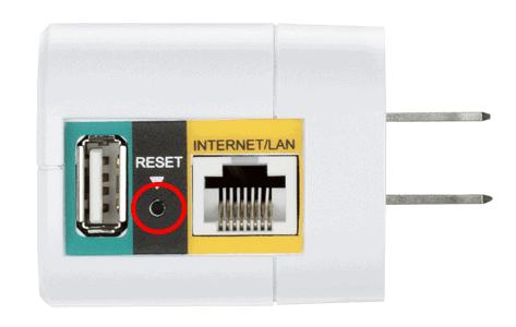 reset my Dlink DIR 505 router