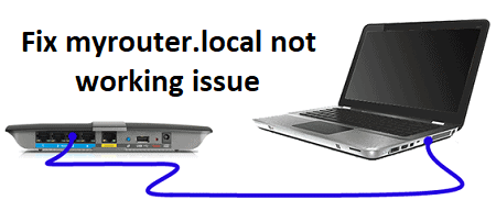 myrouter.local not working